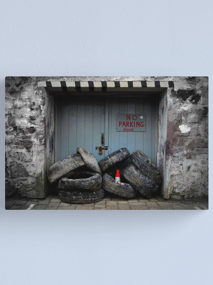 Alternate view of No Parking Canvas Print