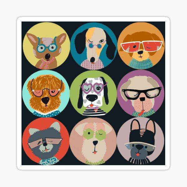 Rock Star Dogs Sticker