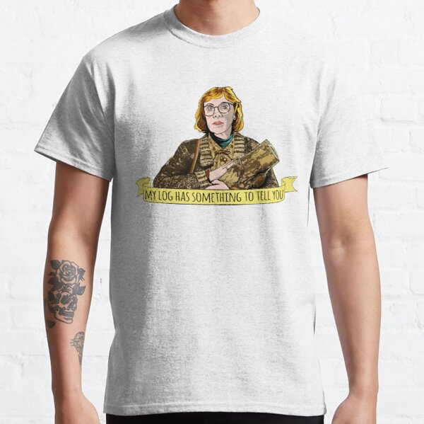 T-shirt Twin Peaks Log Lady, tee-shirt, David Lynch T-shirt classique