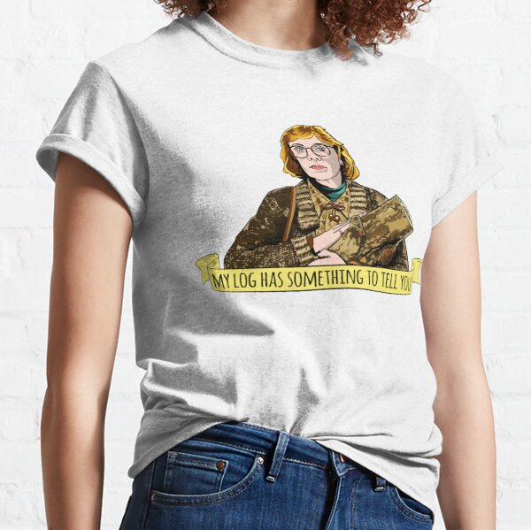 Camiseta de Lady Peaks Log Lady, camiseta, David Lynch Camiseta clásica