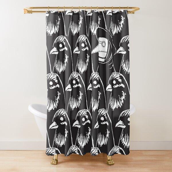 Murder In Their Midst Shower Curtain