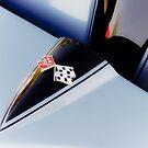 1966 Corvette Symbol by Jeanne Sheridan