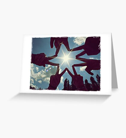 this day is mine, this day is ours Greeting Card