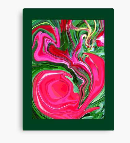 Oleander Melt Canvas Print