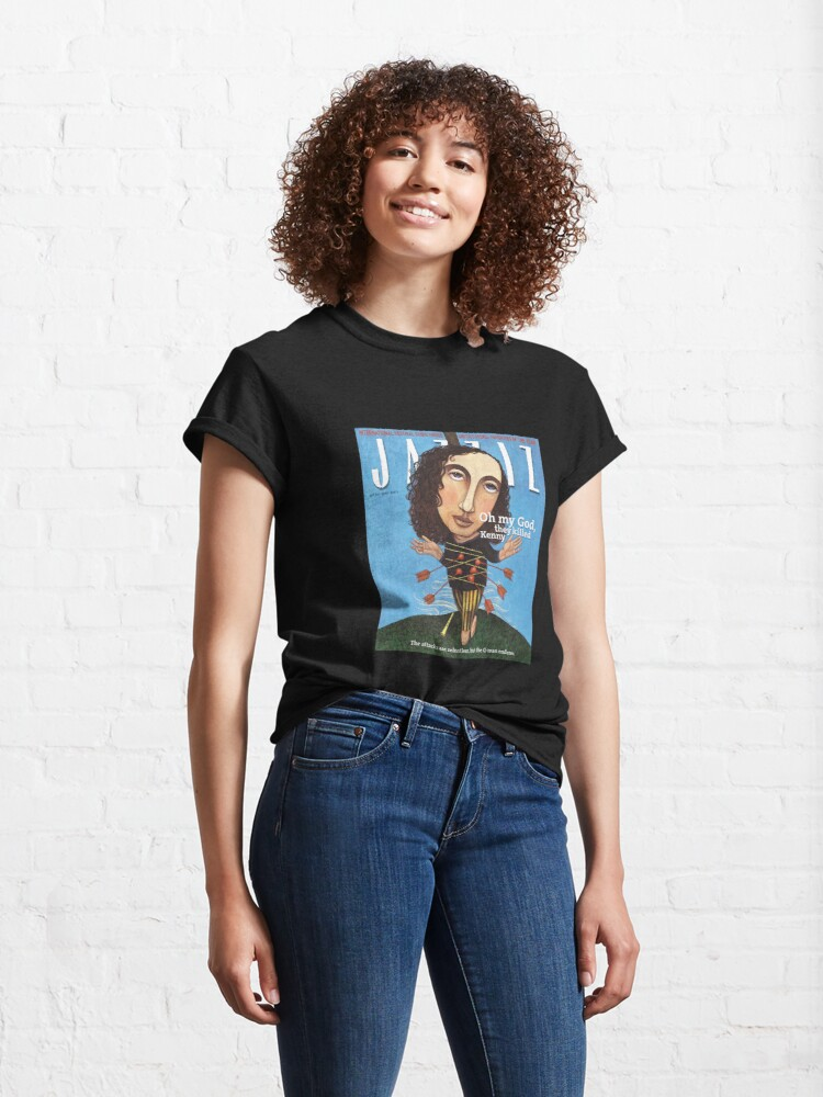 """Alternate view of JAZZIZ """"They Killed Kenny""""  Classic T-Shirt"""