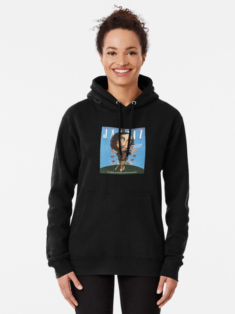 """Alternate view of JAZZIZ """"They Killed Kenny""""  Pullover Hoodie"""