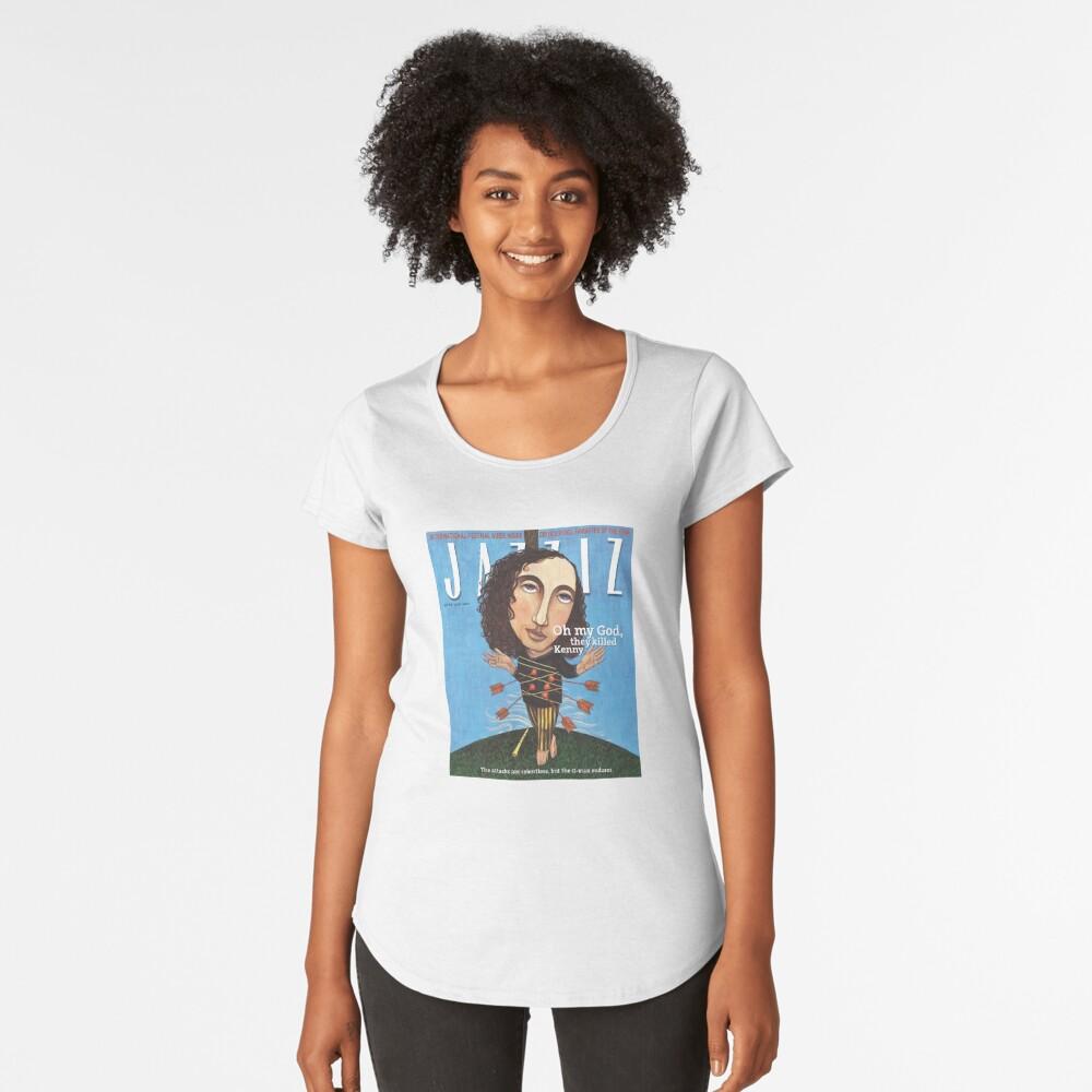 """JAZZIZ """"They Killed Kenny""""  Premium Scoop T-Shirt"""