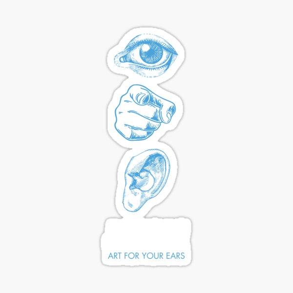 "JAZZIZ ""Art For Your Ears"" Sticker"