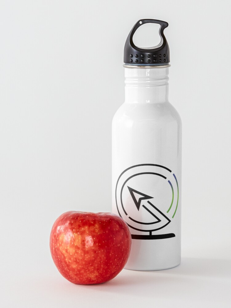 Alternate view of The Lost Geographer Logo Water Bottle