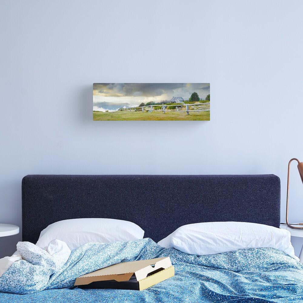 Stormy Evening at Craigs Hut, Mt Stirling, Victoria, Australia Canvas Print