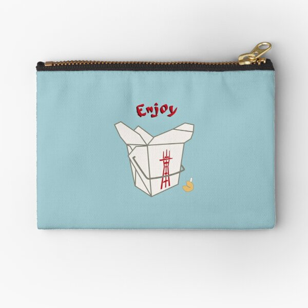 Enjoy Twin Peaks Zipper Pouch