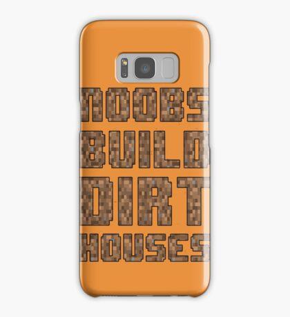 Mine craft noobs Samsung Galaxy Case/Skin