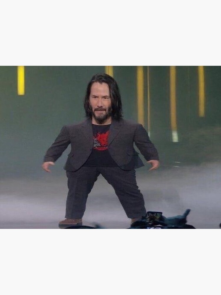 Baby Keanu Reeves Greeting Card By Freshmemes Redbubble