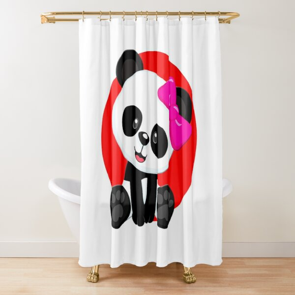 Panda design Shower Curtain