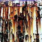 Rusted Metal by David Schroeder