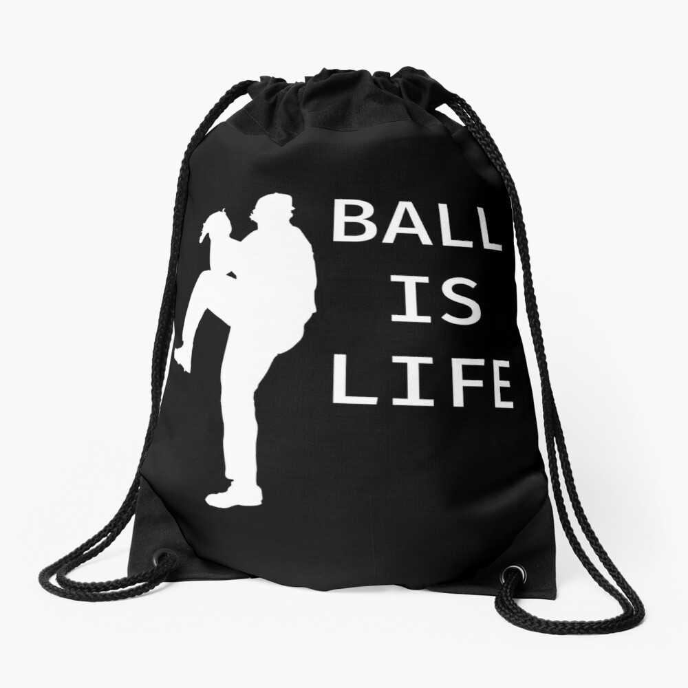 Ball Is Life - Baseball Youth Kids Funny Sports T Shirt Gift  Turnbeutel
