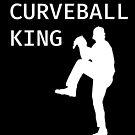 Curveball King - Baseball Youth Kids Funny Sports T Shirt Gift  von greatshirts