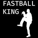 Fastball King - Baseball Youth Kids Funny Sports T Shirt Gift  von greatshirts