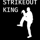 Strikeout King - Baseball Youth Kids Funny Sports T Shirt Gift  von greatshirts