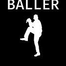 Baller - Baseball Youth Kids Funny Sports T Shirt Gift  von greatshirts