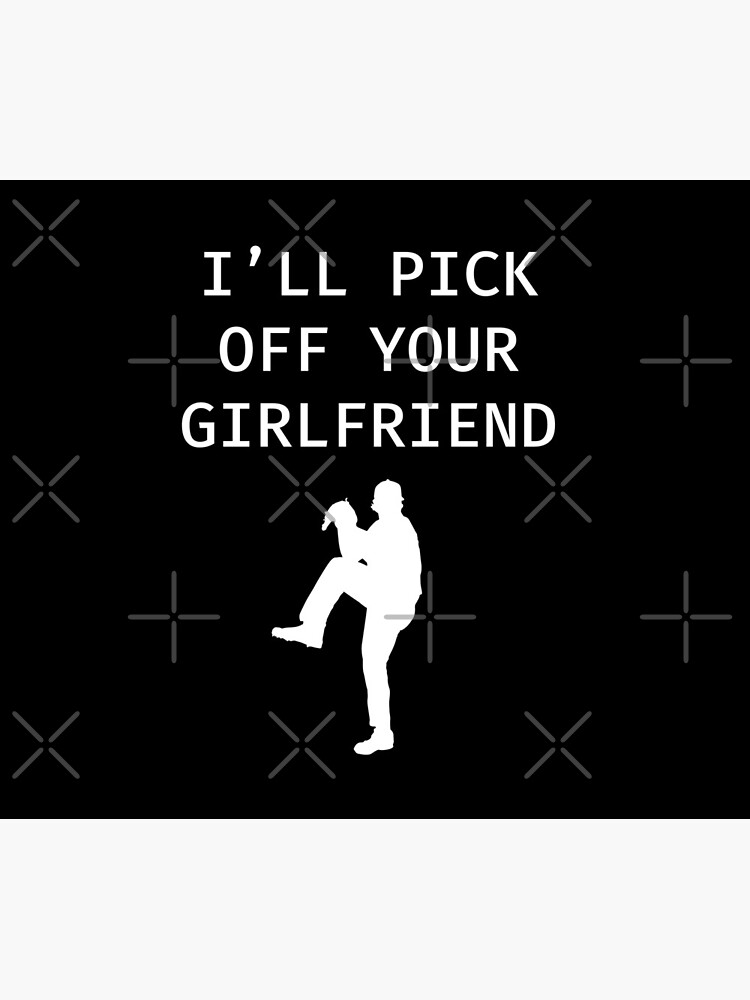 I'll Pick Off Your Girlfriend - Baseball Youth Kids Funny Sports T Shirt Gift  von greatshirts