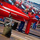 Red Arrows by Stuart Robertson Reynolds