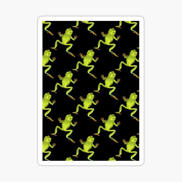 Green Tree Frogs  Sticker