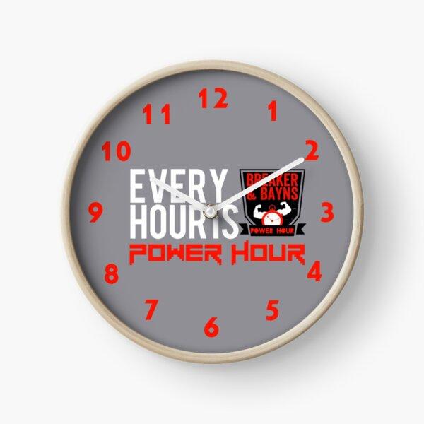 Power Hour Clock Clock