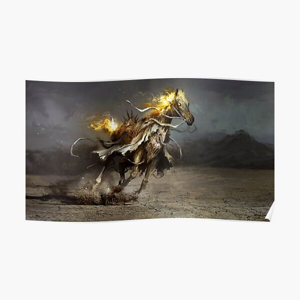Glory, the White Horse Poster