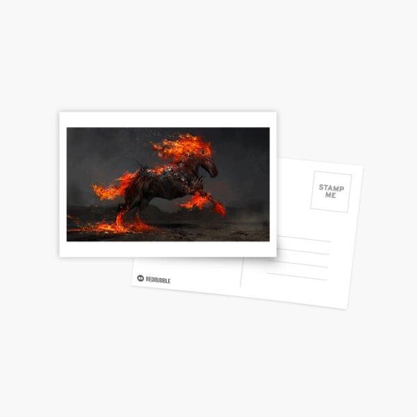 Ruin the Fiery Horse Postcard