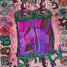Purple Etz Chaim, Tree of Life, Torah by hdettman