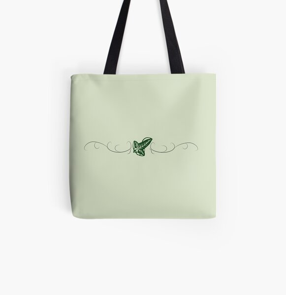 Leaf of Lorien  All Over Print Tote Bag