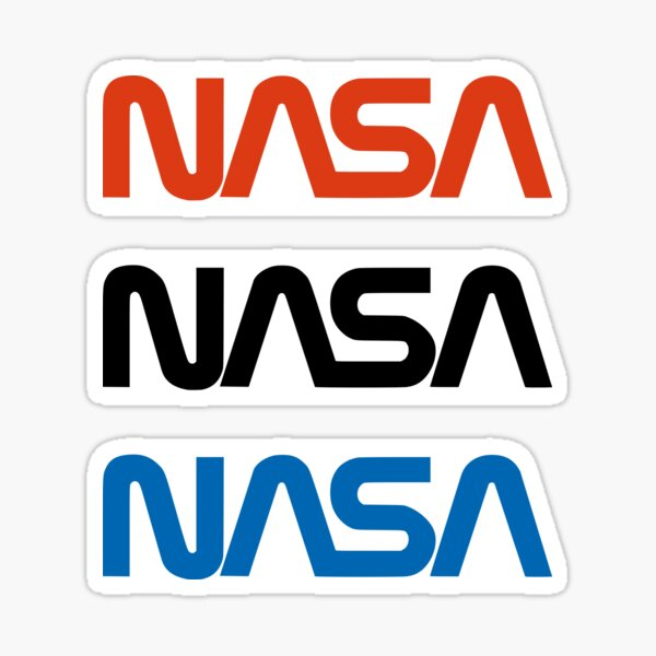 NASA Pegatina