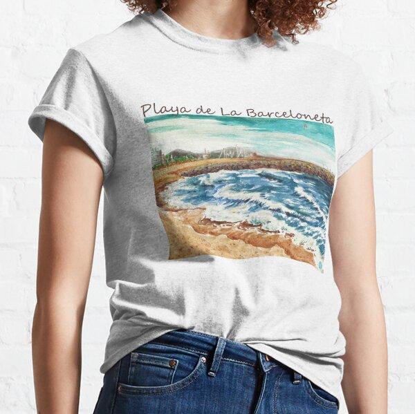 Playa de La Barceloneta Classic T-Shirt