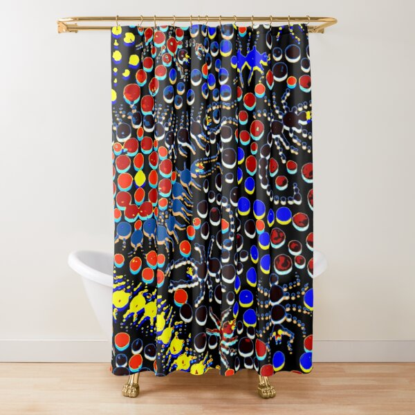 Hide and Creep Shower Curtain