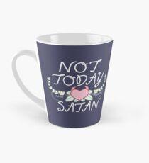 Nicht heute Tasse (konisch)