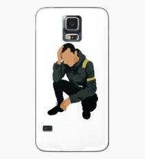 schweben   Tyler - hockend Hülle & Klebefolie für Samsung Galaxy