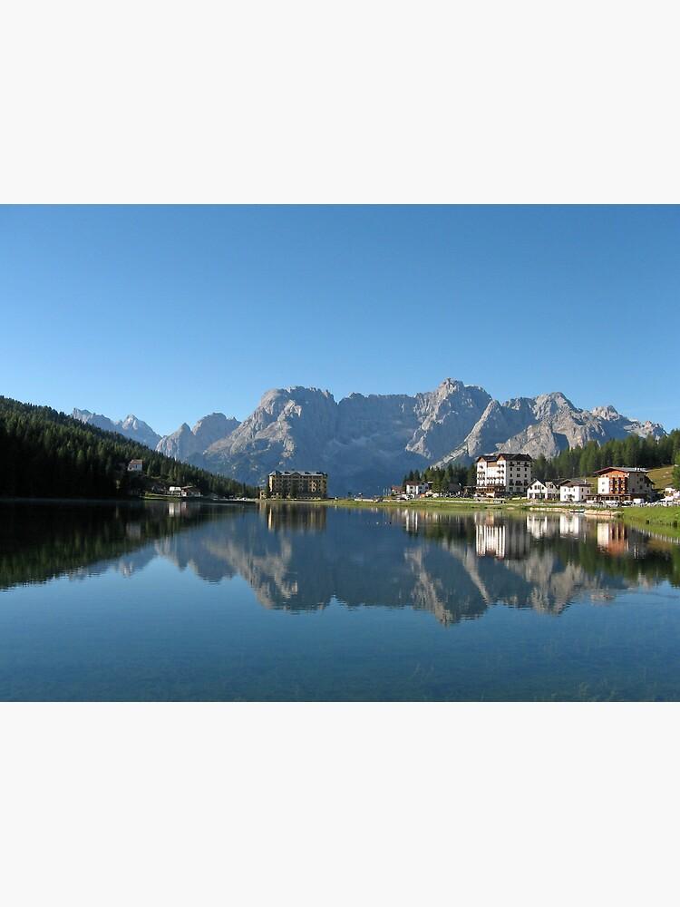 Lake Misurina, Dolomites, Italy de Trine