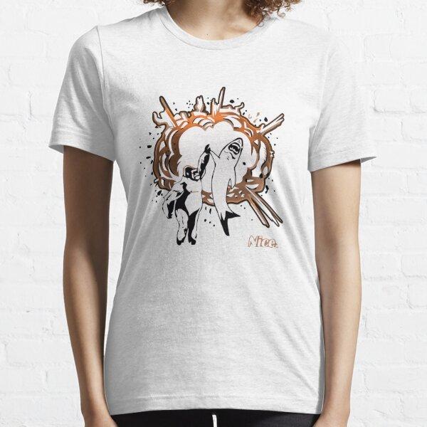 Shark Gorilla Nice High Five Essential T-Shirt
