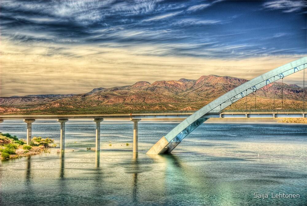 Roosevelt Lake Bridge  by Saija  Lehtonen