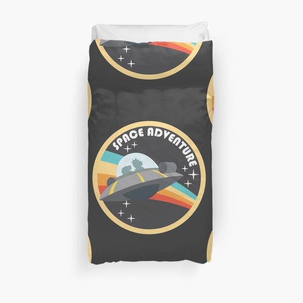 Space Adventure (Rick & Morty) Duvet Cover