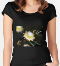 Protea scolymocephala Women's Fitted Scoop T-Shirt
