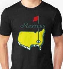 MASTERS GOLF TOURNAMENT AUGUSTA Slim Fit T-Shirt
