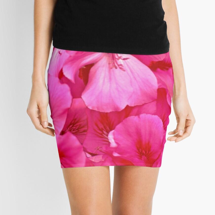 Pink Delight Mini Skirt Front