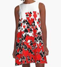 Poker Star A-Line Dress