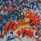 Abstract Fine art, original creation for wall decor . by diasha