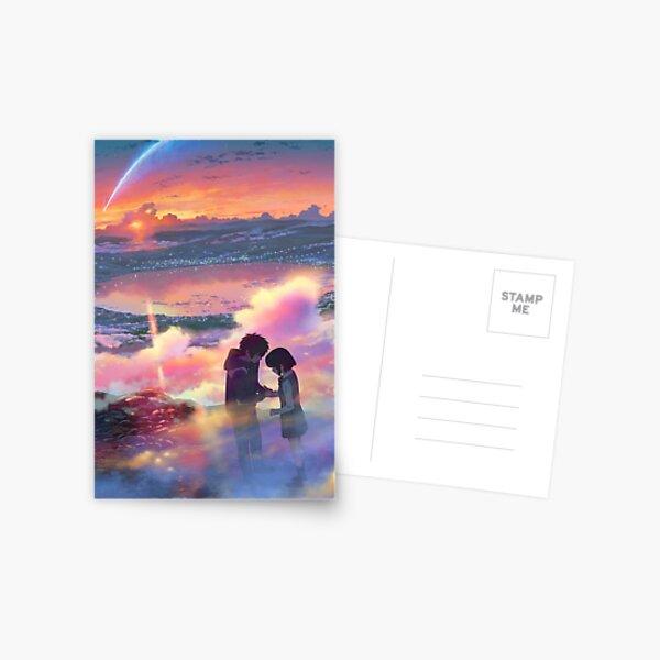 Your Name Poster - kimi no na wa Anime Poster  Postcard