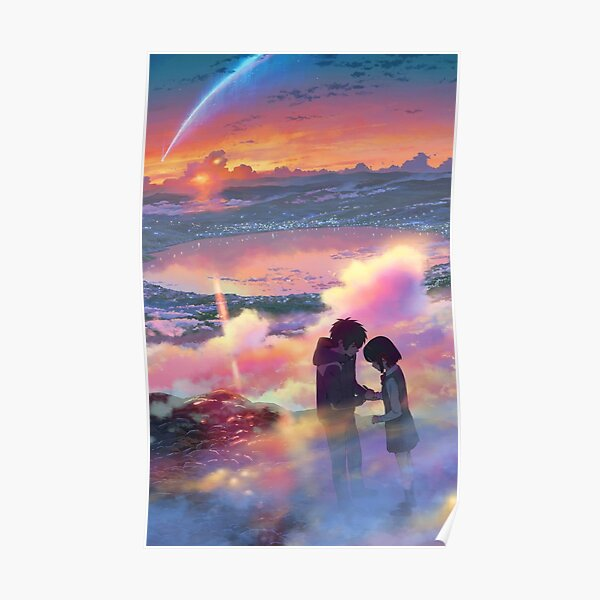 Your Name Poster - kimi no na wa Anime Poster  Poster
