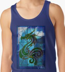 Dragon of the Waves Tank Top