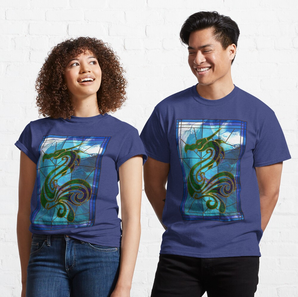 Dragon of the Waves Classic T-Shirt